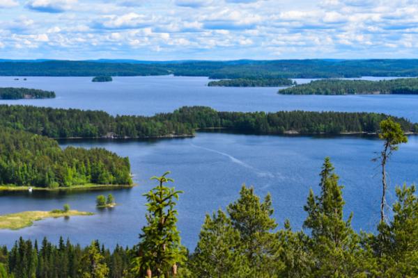 5 ทะเลสาบ ที่สวยที่สุดในฟินแลนด์