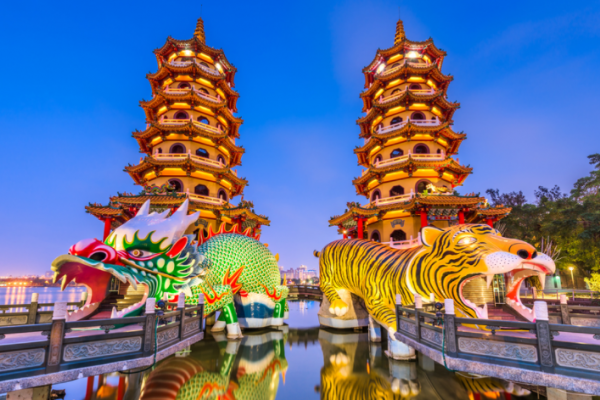 Visit Kaohsiung, colorful old town, Taiwan